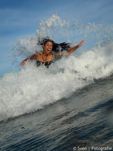 Fida in the wave