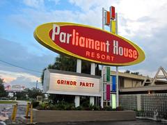 Parliament House, Orlando, FL (Robby Virus) Tags: gay house sign modern club hotel orlando dancing florida parliament resort nightclub entertainment homosexual midcentury