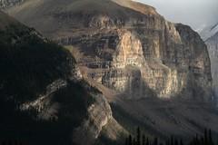 Maligne lake mountains 4 (bichane) Tags: park lake canada mountains rock jasper rocky national alberta maligne