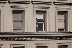 High in San Francisco (Thomas Hawk) Tags: sanfrancisco california usa unitedstates baseball unitedstatesofamerica parade sfgiants giants sanfranciscogiants fav10 sfgiantsparade
