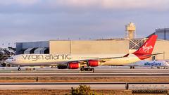 Virgin Atlantic - G-VEIL (InSapphoWeTrust) Tags: california usa losangeles unitedstates unitedstatesofamerica virgin northamerica vs lax airbusa340 virginatlantic 340 vir losangelesinternationalairport 346 klax gveil airbusa340600 queenoftheskies