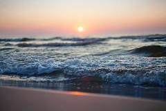 baltic sea (art-dara) Tags: sea sun 50mm evening sand russia bokeh balticsea      zelenogradsk
