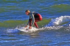 Rdbyxad 05 (Quo Vadis2010) Tags: beach sport strand se surf waves sweden lifestyle wave surfing sverige activity westcoast halmstad sandhamn aktivitet halland vgor brda vstkusten vg kattegatt seasport thewestcoast livsstil wavesurf wavesurfing fritidsaktivitet laholmsbukten vgsurfing vgsurf cityofsurfers surfbrda grvik municipalityofhalmstad seahav halmstadkommun sjsport