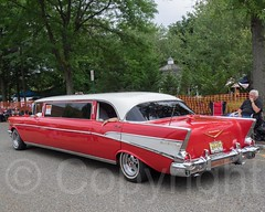 Chevrolet Bel Air Stretch Limo. 2014 Lead East Custom Car Show, Parsippany, New Jersey (jag9889) Tags: auto party usa chevrolet car truck vintage newjersey classiccar automobile unitedstates unitedstatesofamerica nj chevy transportation vehicle custom oldcar oldies carshow gardenstate 50sparty 2014 morriscounty parsippany leadeast customizedcar worldsbiggest50sparty fiftiesshow parsippanytroyhills jag9889 20140830 2014leadeast