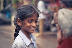 The innocent shy (Palani S) Tags: street india girl little innocent shy chennai tamil tamilnadu canon400d