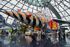 Hangar-7 (Neuwieser) Tags: red salzburg museum aircraft jet f1 bull oldtimer alpha flugzeug formula1 redbull flugplatz warbird flyingbulls dassault dornier formel1 hangar7