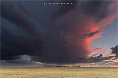 La nube.... (PITUSA 2) Tags: atardecer paisaje valladolid cielo nubes tormenta campos castillayleón villardefrades pitusa2 elsabustomagdalena