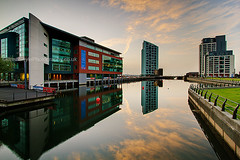 Princes Dock (Brian Sayle) Tags: city england reflection water skyline architecture liverpool docks dock apartments cityscape apartment wideangle 7d citycentre 1022 dockland canon1022 superwide princesdock efs1022mmf3545 liverpoolcitycentre alexandratower eos7d canoneos7d canon7d liverpooloffices liverpoolwaters
