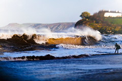 . (Paul Fenrich) Tags: winter wales lensbaby canon paul surf dump wave shore edge 5d 80 swell mkii bodyboard shorey shoredump fenrch