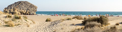 Buscando a Indiana Jones (felipemadroal) Tags: sea summer spain almeria cabodegata playademonsul vacaciones2014