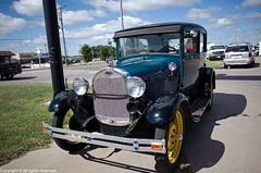 1930s Ford Model A (photo_maan) Tags: ks usa vintage rebuilt antique event carshow customcars kansas refurbished cars car classic modela 1930s ford fordmodela