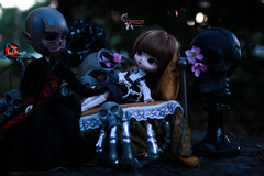 Tales of the Nightmare Children (dreamdust2022) Tags: lenore sweet cute charming tender innocent scared sadness captured slave weak little dream child young girl yeolume doll jack knight angelgate nightmare guardian loving caring honest fatherly figure man