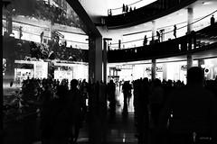 shop, shop, shopping (light-square) Tags: shop impression monochrome leicam9p summilux1450mm shopping mall