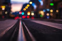 allure (ewitsoe) Tags: rail bokeh cityscape nikon ewitsoe poznan poalnd ground lowdof train street urban