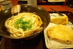 Tokyo lunch (DameBoudicca) Tags: tokyo tokio  japan nippon nihon  japn japon giappone shiba   worldtradecenter restaurant restaurang restaurante ristorante  lunch mittagessen almuerzo pranzo  udon   noodles nudlar nudeln fideos nouilles   tempura