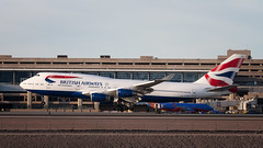 Southside Queen. (hotdog.aviation) Tags: nikcollection photoshop lightroom terminal4 skyharbor skyharborinternationalairport phoenixskyharborinternationalairport britishairways 747 boeing747 boeing