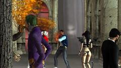 Jesie's Halloween Party (hunnibear86) Tags: halloween costume secondlife sl demon wolf lycan