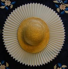 Memory of a summer gone (frankmh) Tags: hat strawhat hittarp skne sweden indoor