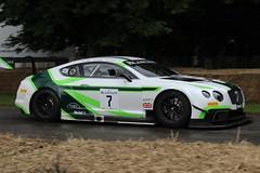 2013 Bentley Continental GT3 (Crackers250) Tags: goodwood fos festivalofspeed 2016 motorsport hillclimb racing car bentley gt sportscar continental gt3 davidbrabham
