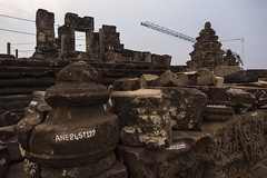 Labelled puzzle pieces (abbobbotho) Tags: cambodia angkorwat krongsiemreap siemreapprovince kh