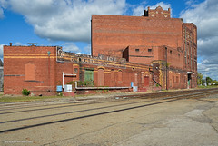 Canton Ice and Cold Storage Co. (gregador) Tags: canton ohio decayed abandoned industry ghostsign architecture railroad rustbelt