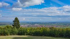 Edenkoben (since 1960) Tags: friedensdenkmal deutschland germany rheinlandpfalz aussicht overlook stadt city village dorf himmel sky wolken clouds