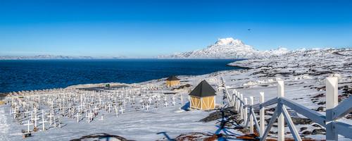 Graveyard in Nuuk, Greenland