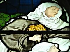 [45664] St Editha, Tamworth : Marmion Windows (Budby) Tags: tamworth staffordshire church window stainedglass preraphaelite