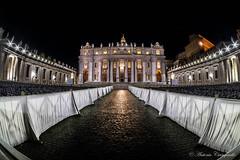 all roads lead to Rome (Antonio Ciampriello) Tags: roma rome italy lazio italia travel rm architecture city europe night building light cityscape vaticano church