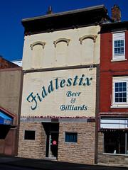 Fiddlestix, Wheeling, WV (Robby Virus) Tags: wheeling westvirginia fiddlestix beer billiards bar dive front building