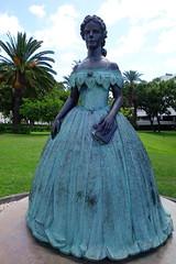 DSC02209 (adamfrunski) Tags: funchal madeira portugal statue lady
