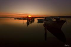 Too late (Smart.In.Z) Tags: balaruc ciel coucherdesoleil etang landscape sunset thau