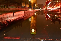 Westminster Bridge (campbell845) Tags: westminsterbridge london uk cityoflondon bigben nightphotography night longexposure shot startrails nikon reflection