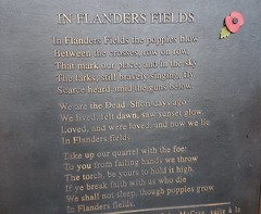 In Flanders Fields plaque (greentool2002) Tags: