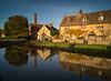 A Cotswolds Scene (dolbinator1000) Tags: water mill lower slaughter cotswolds gloucestershire england uk sony a58 long exposure 10 stop nd filter river eye reflect reflects reflecting reflection reflections house home homes village chimney sky