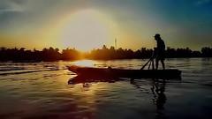 Mekong Delta Sunrise (gerard eder) Tags: world travel reise viajes asia southeastasia sdostasien vietnam southernvietnam mekong mekongdelta boats boote barcas sunrise landscape landschaft paisajes