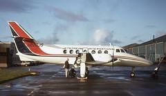 N820JS. Jetstream International Airlines British Aerospace Jetstream 3101 (Ayronautica) Tags: 1983 december jetstreaminternationalairlines ayronautica pik egpk prestwick aviation scanned turboprop jetstream31 britishaerospacejetstream3101 n820js