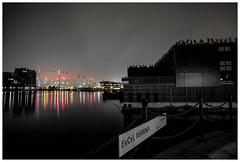 Excel Marina... (kevingrieve610) Tags: docklands royal victoria dock water river flickr fujifilm autumn 2016 london city cityscape mist fog
