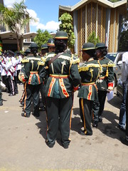 Special day uniforms (prondis_in_kenya) Tags: kenya nairobi shortrains holyfamily basilica church cathedral catholic uniform uniformedservices thanksgiving music instrument