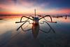 Pantai Kelan, Bali (KembaraAlam) Tags: pantaikelan kelanbeach tubanbeach jungkung kenu reflection seascape sunrise scenery boat landscape photography photohunt phototravel phototrip dawn indonesia bali asia outdoor canon canonasia kembaraalam