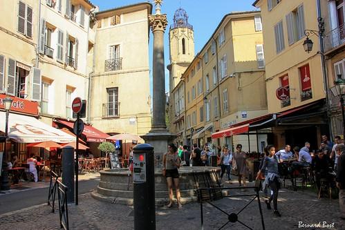 Place des Augustins à Aix-en-Provence