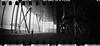 2016-05 - 056SR/059SR - DSC_0029 (sarajoelsson) Tags: sprocketrocket blackandwhite bw panorama panoramic sprocketholes digitizedwithdslr toycamera ilford 135 35mm 2016 hp5 monochrome plasticlens everydaylife filmphotography filmisnotdead believeinfilm filmshooter film wideangle lomography lomo may madrid spain city urban xtol teamframkallning bnw svartvitt blackwhite spring springtime