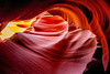 Spiral Rock Arches, Arizona (Rod Heywood) Tags: lowerantelopecanyon arizona sandstone navajo americansouthwest iconic rocksculpture slotcanyons canyon rockcanyon pagearizona spiralrockarches thecorkscrew navajonation red orange antelopecanyon navajosandstone desert rock abstract sculpted surreal