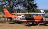 C-210 V5-KRO stored at ERS/FYWE (Jaws300) Tags: windhoek namibia eros airport downtown erosairport ers fywe flying general aviation blus skies sky bluesky blueskies genav plane cessna centurion stored junk c210 v5kro