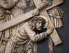 Jesus fällt zum zweiten Mal unter dem Kreuz (wpt1967) Tags: castroprauxel christus eos6d kirche kirke kreuzweg ruhrgebiet station7 stationsofthecross canon100mm church wpt1967