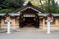 Japanese shrine (m_saito) Tags: harajuku yoyogi park