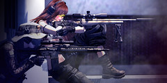 """""""One Shot, One Kill""""? (Eripom^^) Tags: ssoc sac zday m24 sniper rifle marksman one shot kill marines army special forces weapon gun battle combat military tonk fuckinglovely epia sr16 kac knights armament magpul leupold d1mtg rp outdoor sexy silencer suppressor sws secondlife"""