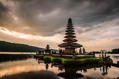 Water Temple in Bali (girltwin) Tags: portraithosewatermanflashstrobe bali balinese temple watertemple hindi hinduism sunrise prayer landscape tombolphotography