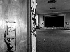 """I love this place""   Vogelsang, Brandenburg (Andr-DD) Tags: brandenburg germany deutschland vogelsang lost place places verlassen verfall old alt urbex urban exploring haus house lostplaces empty leer graffiti"