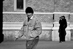 streetphotographer in action (Zlatko Vickovic) Tags: streetstreetphoto streetphotography streetphotographybw streetbw streetphotobw blackandwhite monochrome zlatkovickovic zlatkovickovicphotography novisad serbia vojvodina srbija